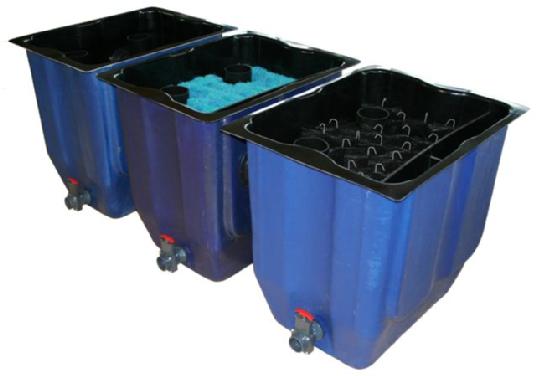 Modulfilter for Koi teichfische